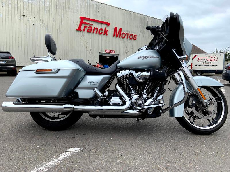 Harley-Davidson Street Glide 1690 Couleur ABS STAGE 1 Essence GRIS MET Occasion à vendre