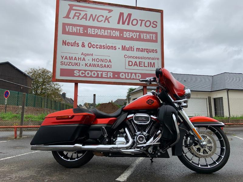 Harley-Davidson CVO Street Glide 1923 Essence BURGUNDY CHERRY SUNGLO FADE Occasion à vendre