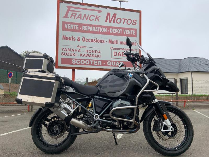 Photo 1 de l'offre de BMW R 1200 GS Adenture Triple Black à 16990€ chez Franck motos