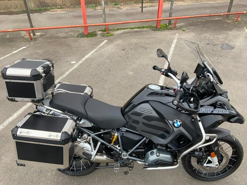 Photo 3 de l'offre de BMW R 1200 GS Adenture Triple Black à 16990€ chez Franck motos