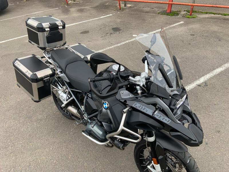 Photo 4 de l'offre de BMW R 1200 GS Adenture Triple Black à 16990€ chez Franck motos